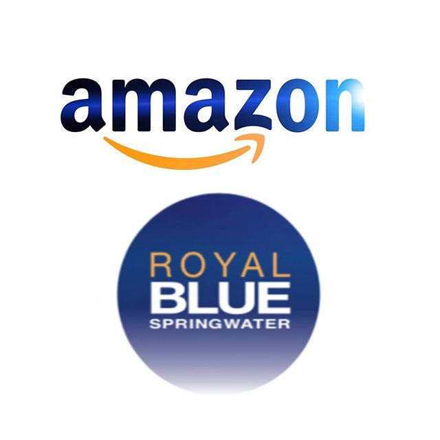 Check out the link in our bio for water info, company history, visuals & more! Royal Blue is also available on @amazon place your order TODAY ❕💧