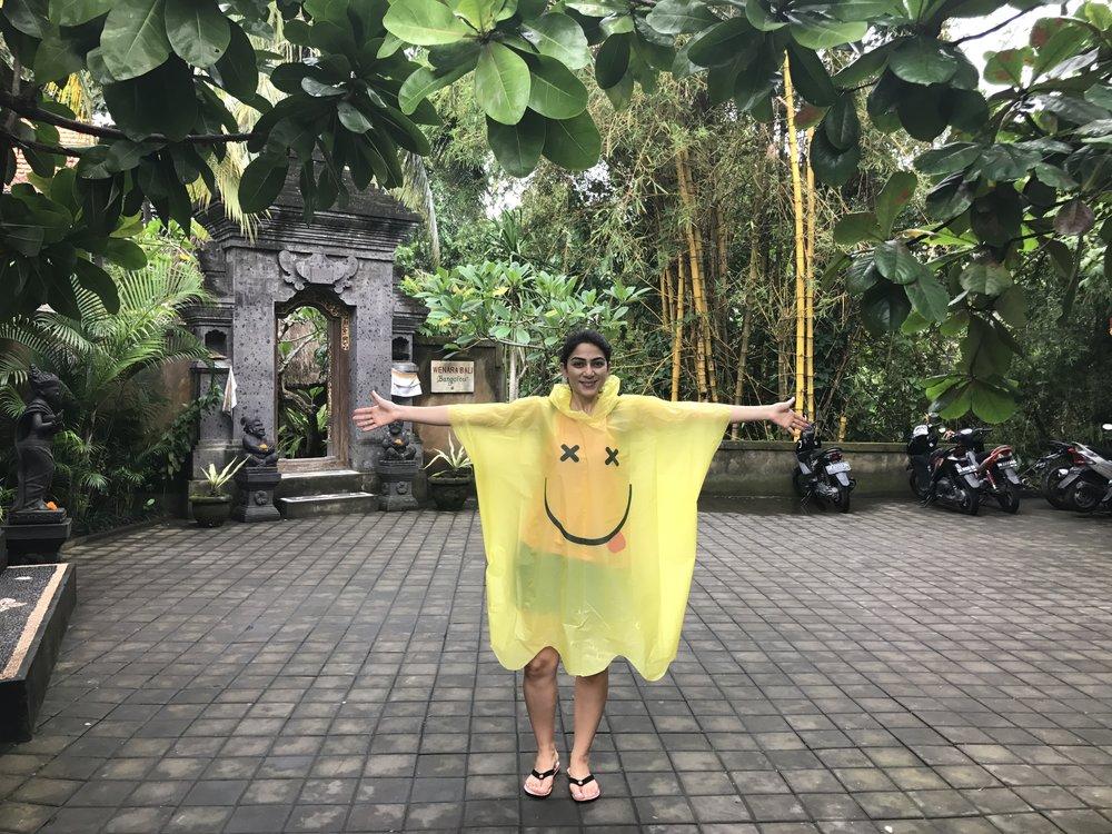 Elif Ozgecan Hiz in Bali