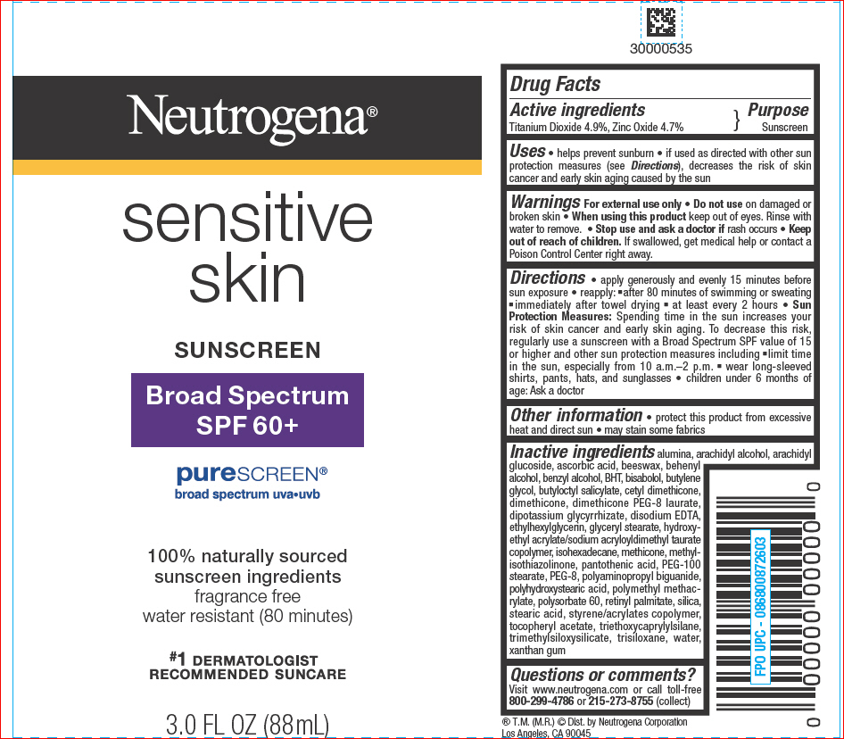 US labeling of sunscreen - see titanium dioxide & zinc oxide is at the top of the list. If this product is from the EU, it will not differentiate between active and non-active ingredient. Titanium dioxide, only with 4.9%, should fall back in the ingredient list.