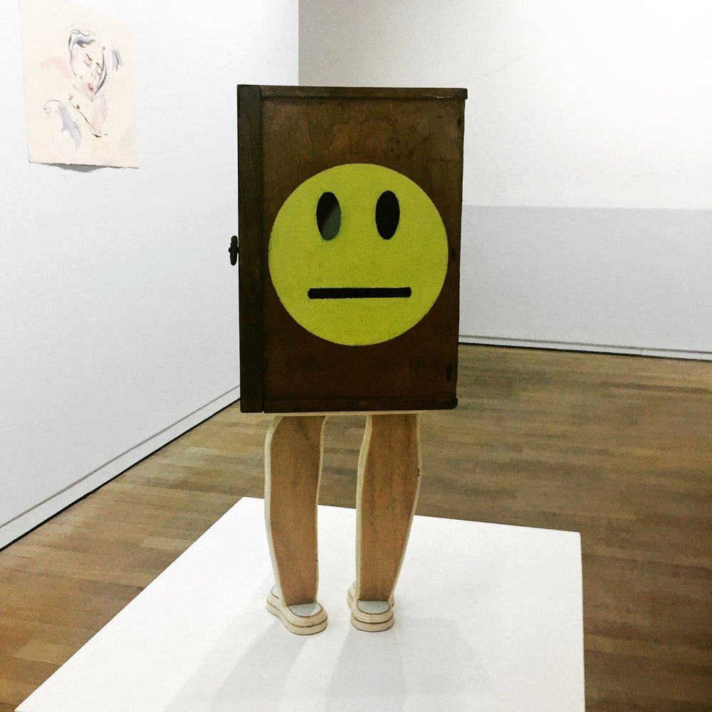 One of my favourite pieces in an art exhibition in Paris, 2015