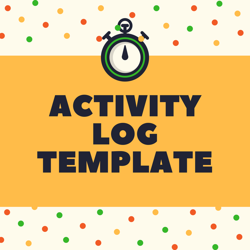 activity log template forsyth va services