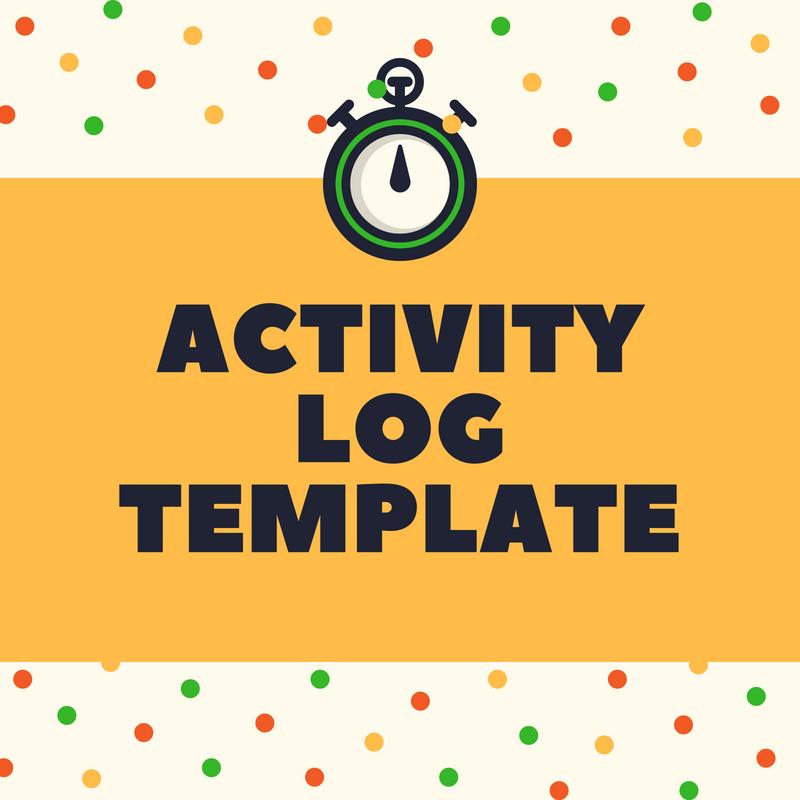 activity log template forsyth va services