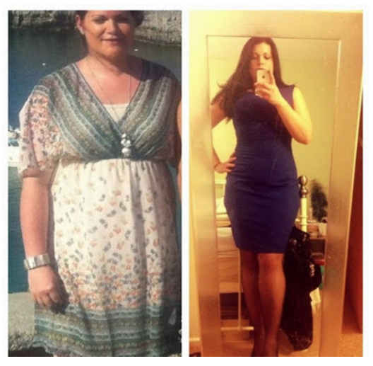 Kerry's is stronger, fitter, has lost inches from her body and is happier
