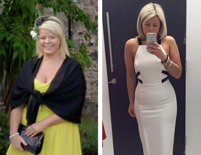 Leaner, fitter and much more confident Araminta has also stopped hours of endless cardio