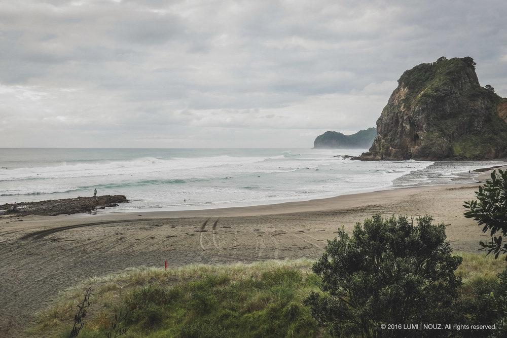 Piha Beach, North Island, New Zealand
