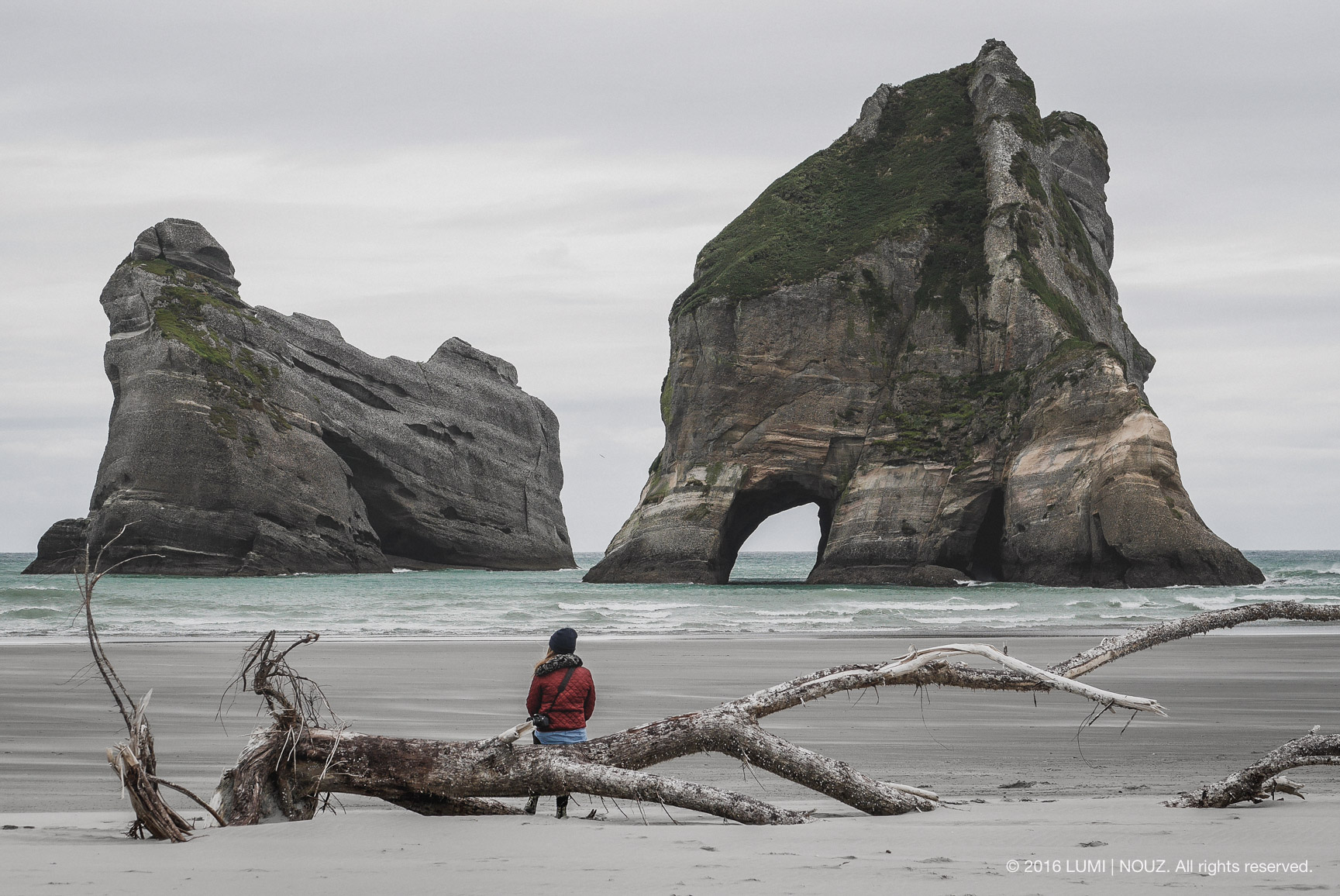 Wharariki Beach, South Island, New Zealand