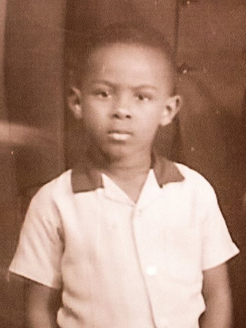 Danny Michel as a young boy, before immigrating from Haiti to the U.S. Photo: Courtesy of the Michel Family