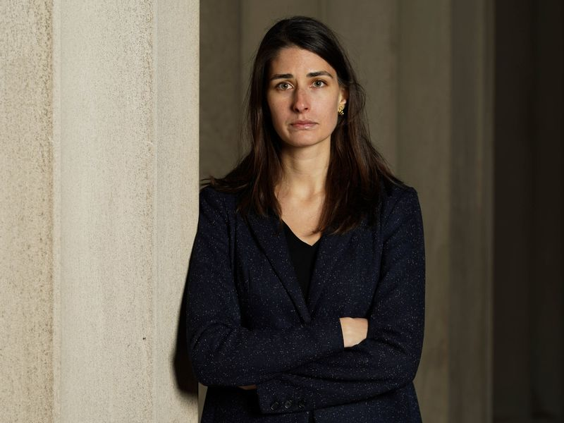 Advocate Elena Weissmann fights against how long it takes the city's Correction Department to release people who post bail.  (Kendall Rodriguez for New York Daily News)