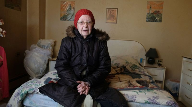 """My body can't take the cold anymore. Last night, I was up all night. I couldn't sleep."" - Read more about how Carol Miles and her neighbors are trying to keep warm this winter."