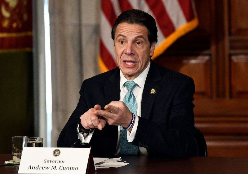 Gov. Cuomo is being pushed by pretrial justice reform activists who insist his changes to the system don't go far enough. (Hans Pennink / AP)