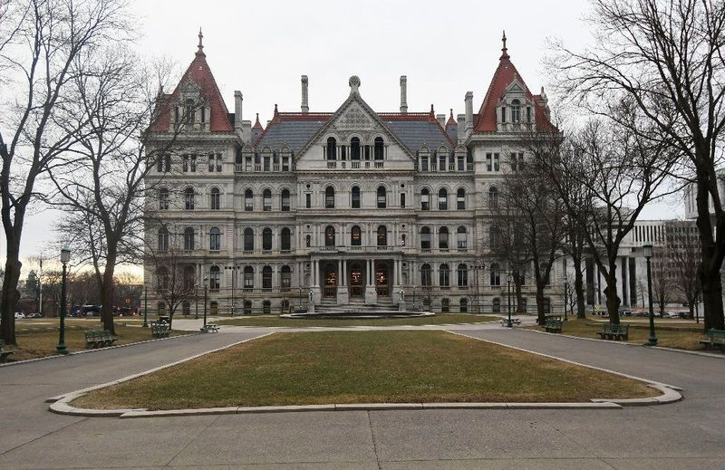 Activists says bail reform is moving too slowly at the state Capitol in Albany. (Hans Pennink / AP)