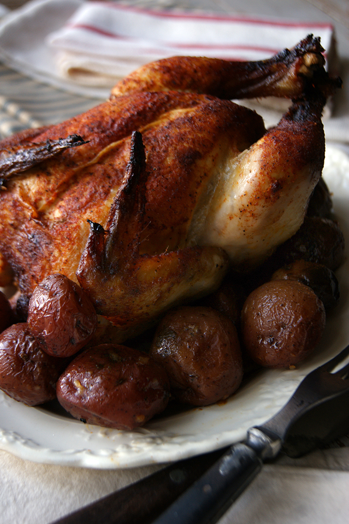 Whole Rotisserie Chicken with Baby Red Potatoes