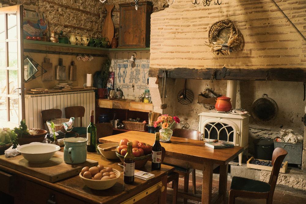 The Kitchen at Camont by Jamie Beck ( Ann Street Studio )