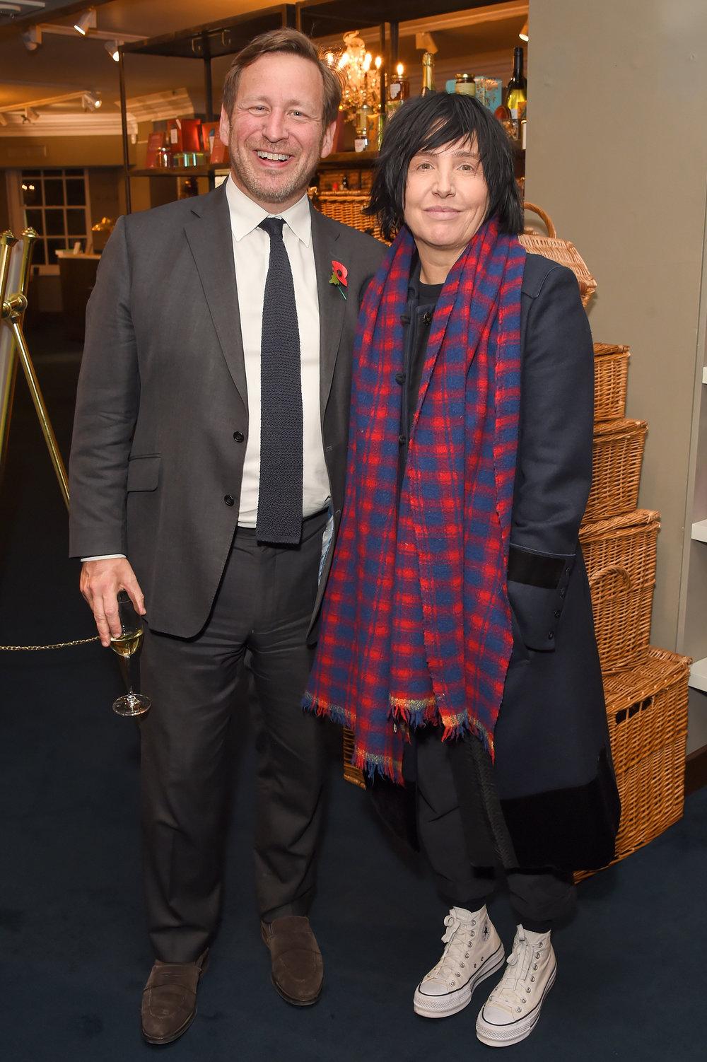 Rt Hon Ed Vaizey MP and Sharleen Spiteri. Courtesy Dave Benett.