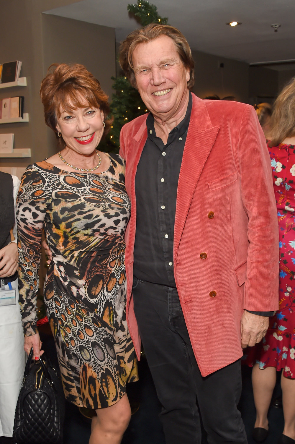 Kathy Lette and Theo Fennell. Courtesy of Dave Benett.
