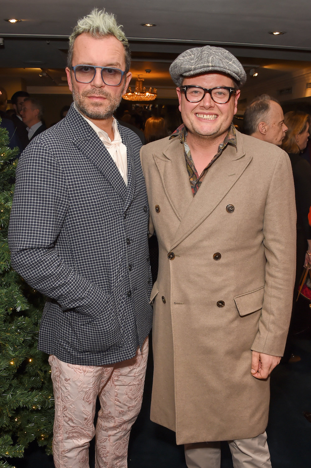 Paul Drayton and Alan Carr. Courtesy of Dave Benett.