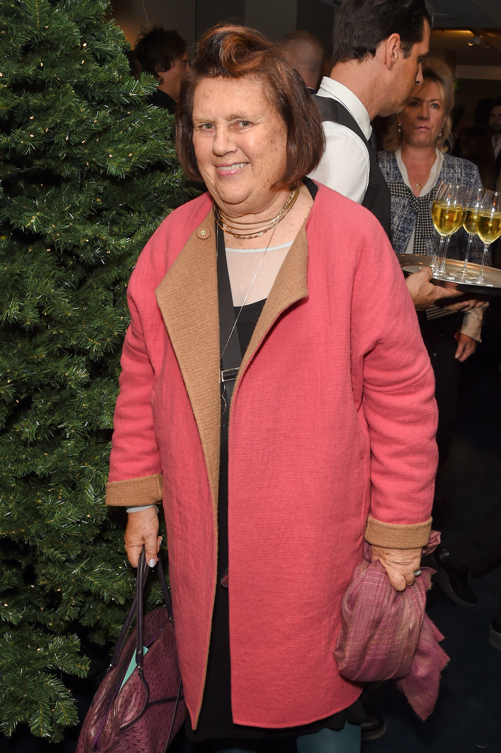 Suzy Menkes. Courtesy of Dave Benett.