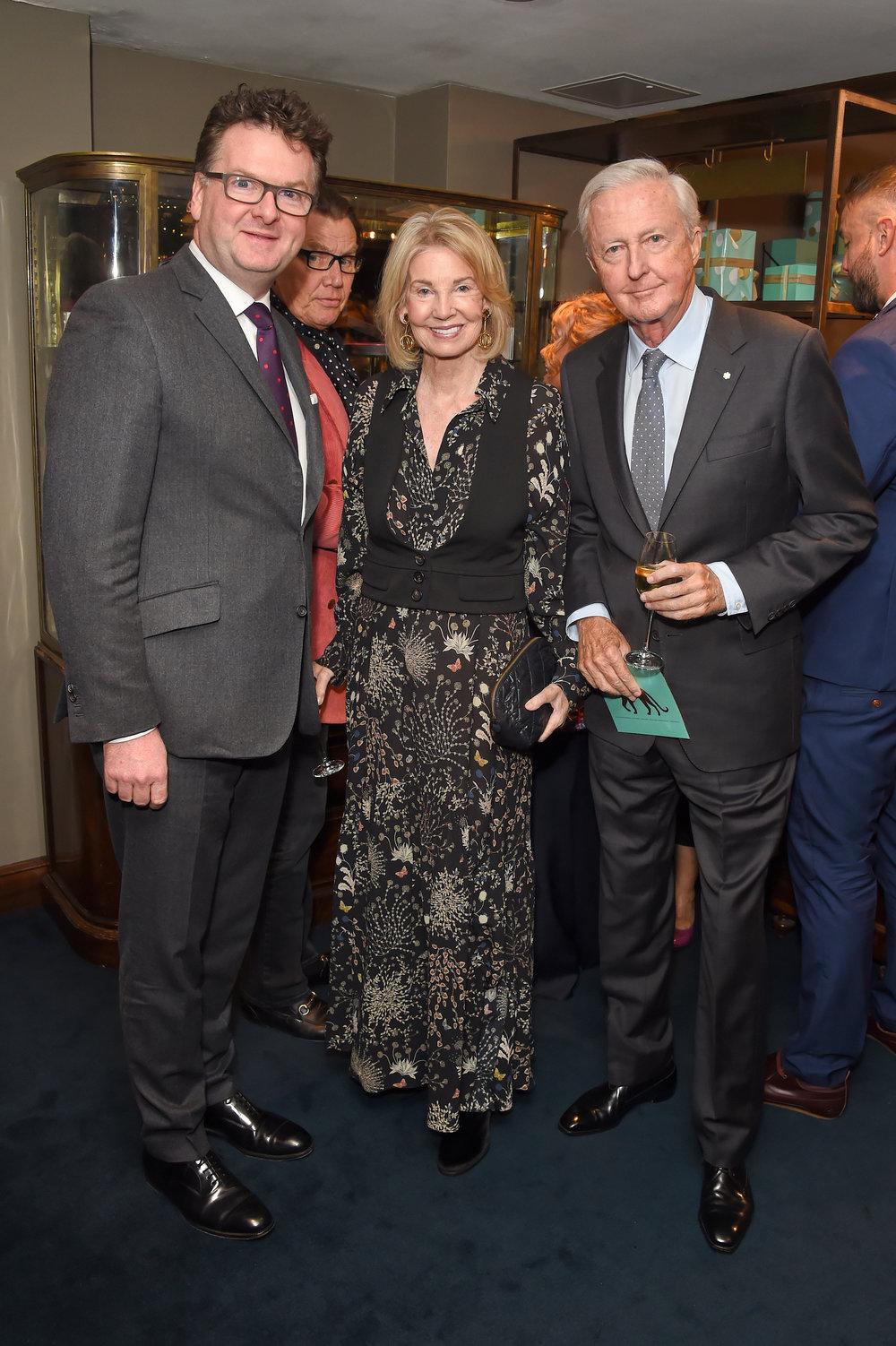 Ewan Venters, Hilary Weston and Galen Weston. Courtesy of Dave Benett.