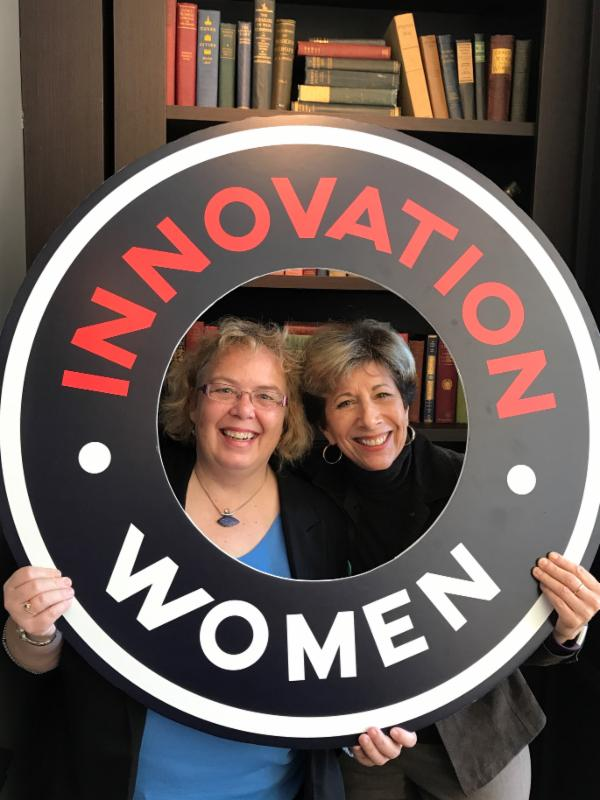 Kari and Julia Geisman Innovation Women Hub week Photo.jpg
