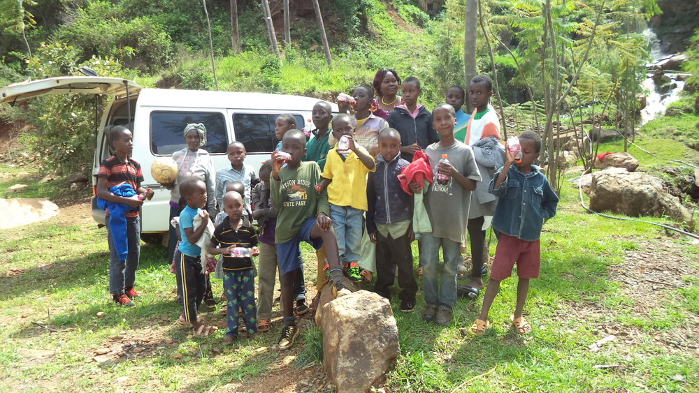 Children being taught on environmental conservation