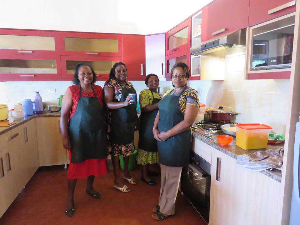 Staff that helped in cooking.