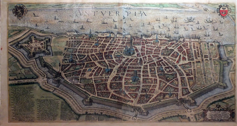 BRAUN, Georg (1541-1622) & HOGENBERG, Franz (1535-1590). Antverpia.  Cologne: 1572-1612.