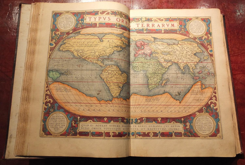ORTELIUS, Abraham (1527-1598). Theatrum Orbis Terrarum. Antwerp: Officina  Plantiniana, 1612.