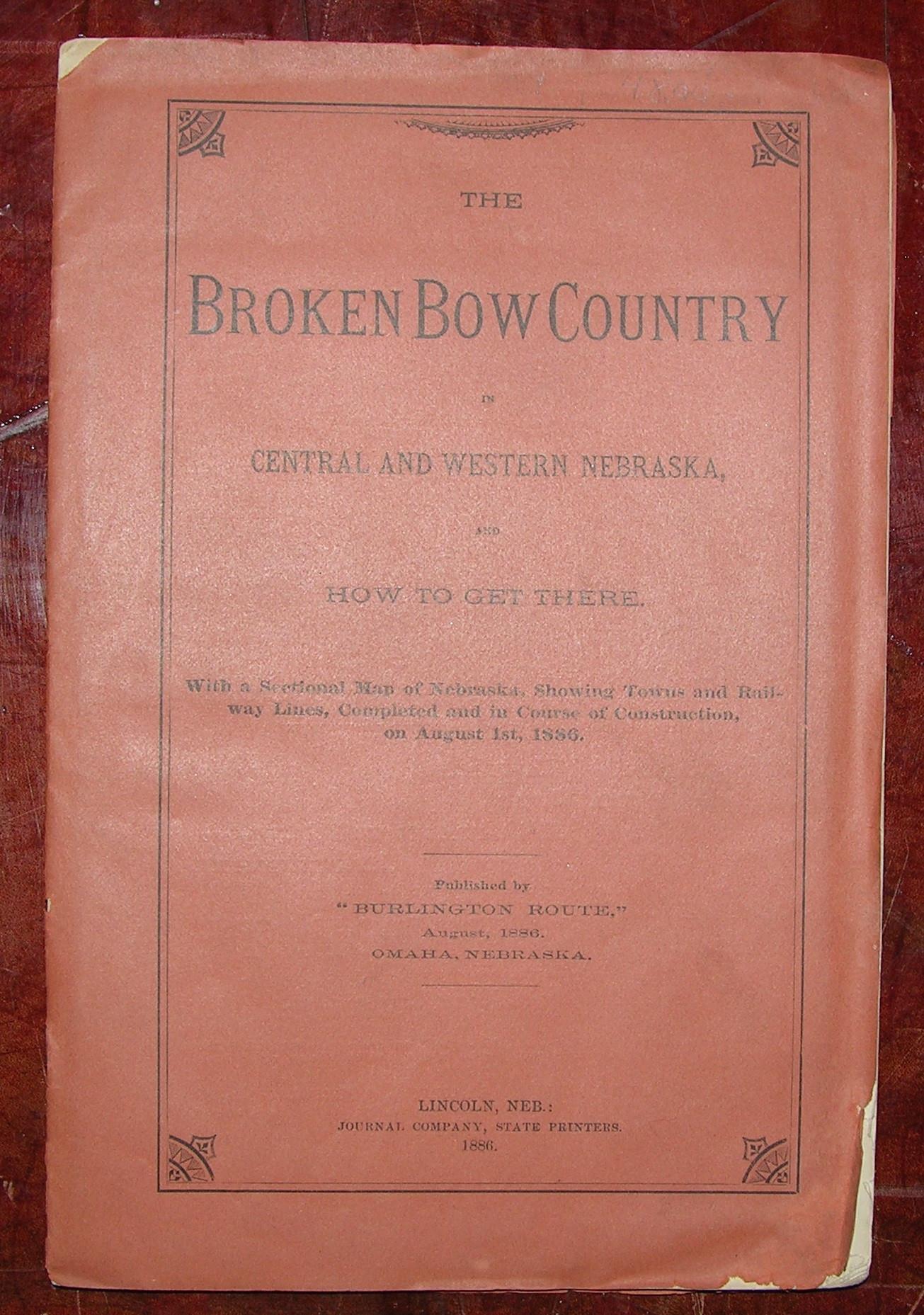 Nebraska The Broken Bow Country In Central And Western Nebraska