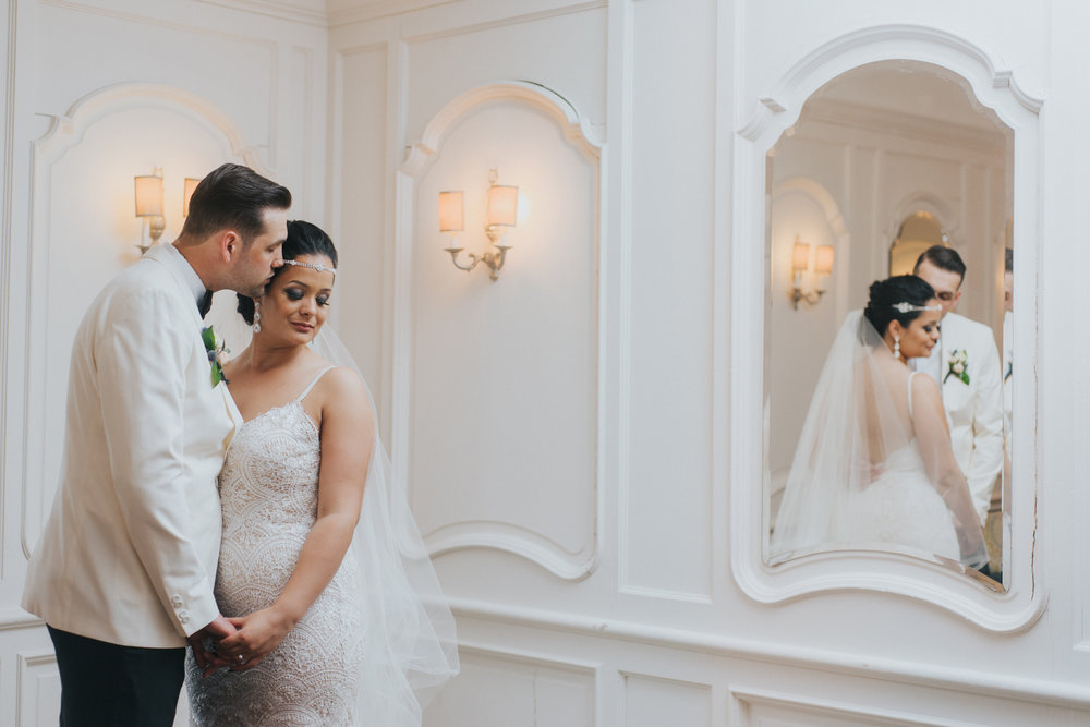 Intimate Gatsby Wedding - Auberge du Pommier - Toronto