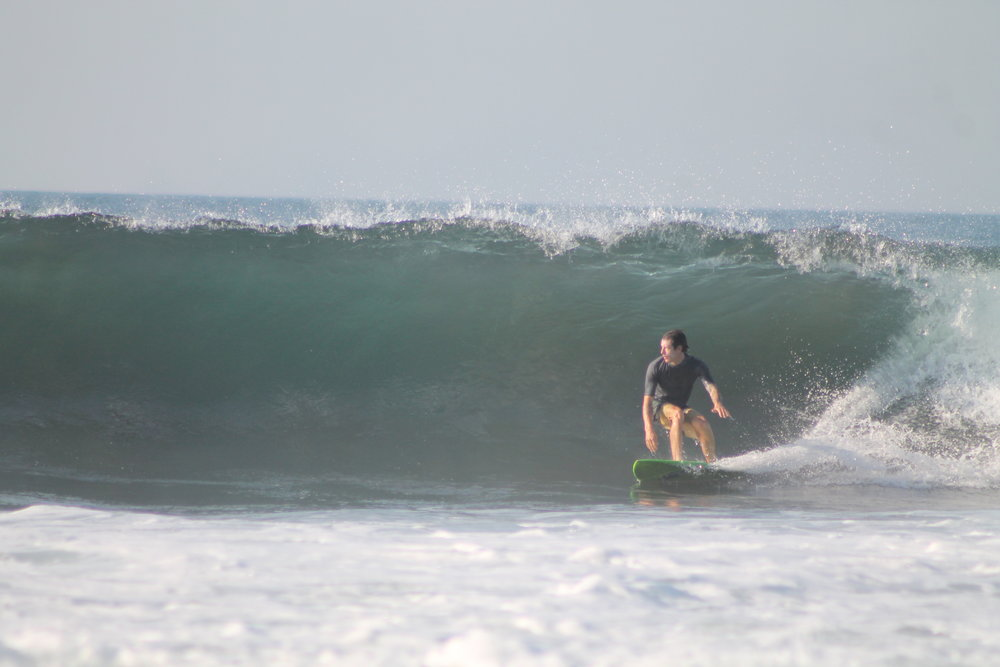 bhakness at Punta Roca, El Salvador. photo by: Punta Roca Surf Club.