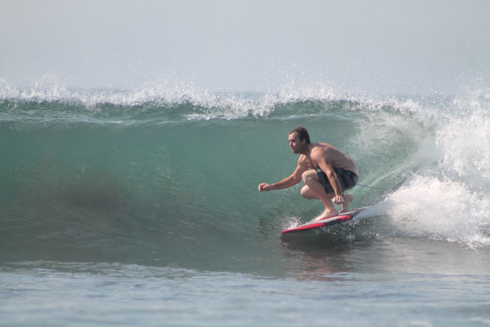 mango at Punta Roca, El Salvador. photo by: Punta Roca Surf Club.