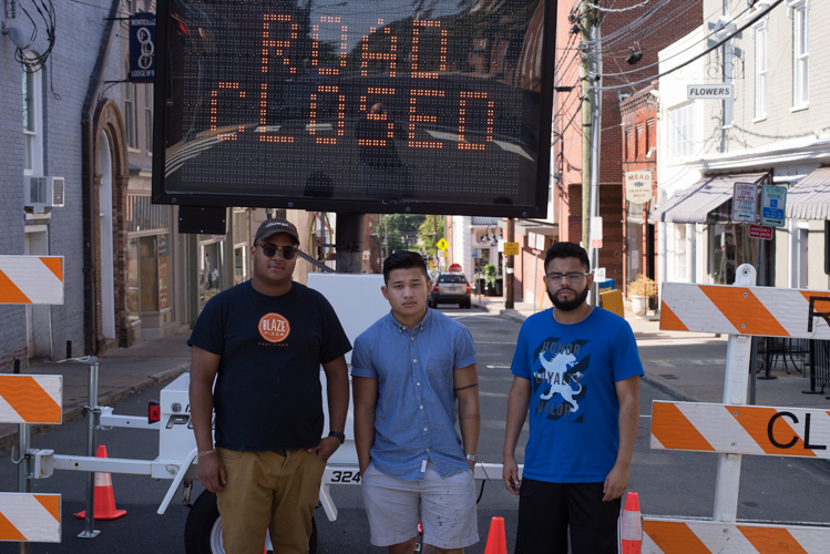 met some lovely people while in Charlottesville, these guys were kind of enough to give me some time to chat with them, funny thing that all four of us where hesitant about going to Charlottesville because of our skin color...