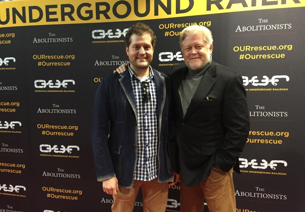 Ammon Jones, Post-Production Supervisor, and McKay Daines, Producer, of The Abolitionists