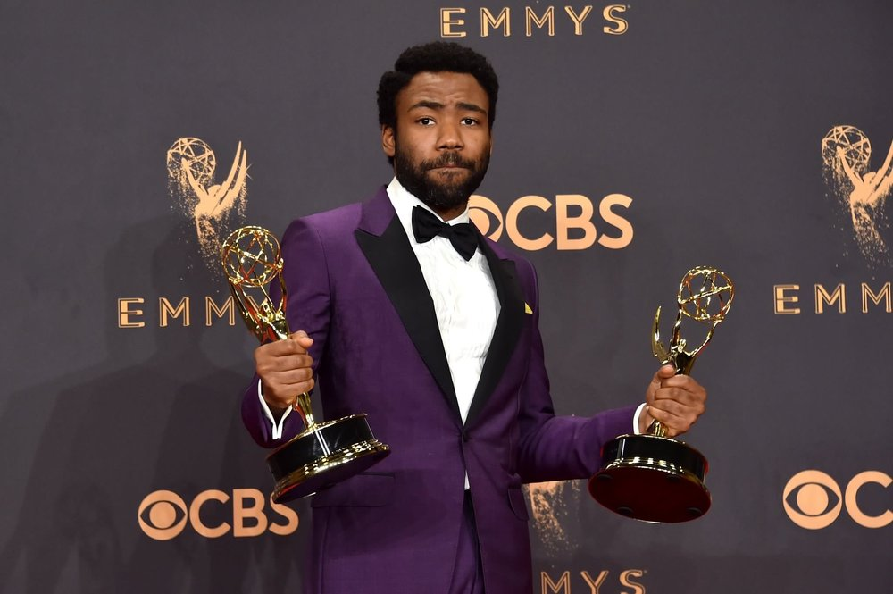 (Donald Glover at the Emmys)