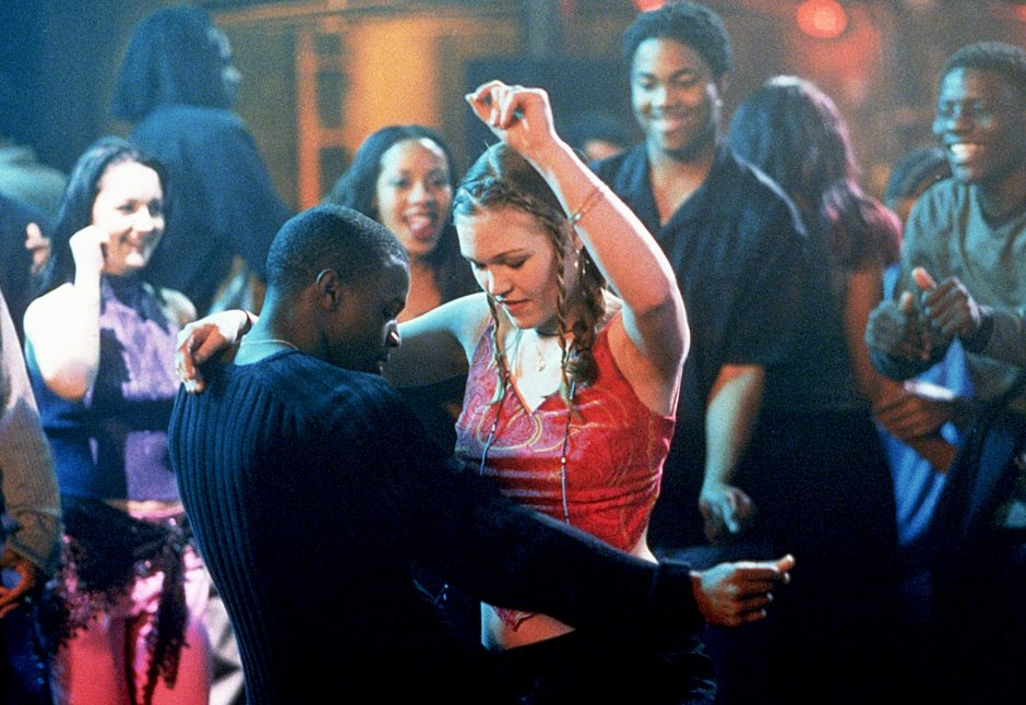 Julia Stiles and Sean Patrick Thomas in Save the Last Dance.