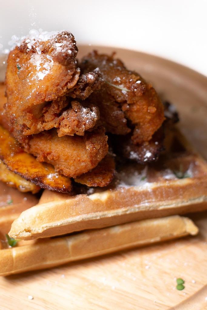 Onidodo Suya Chicken Waffles