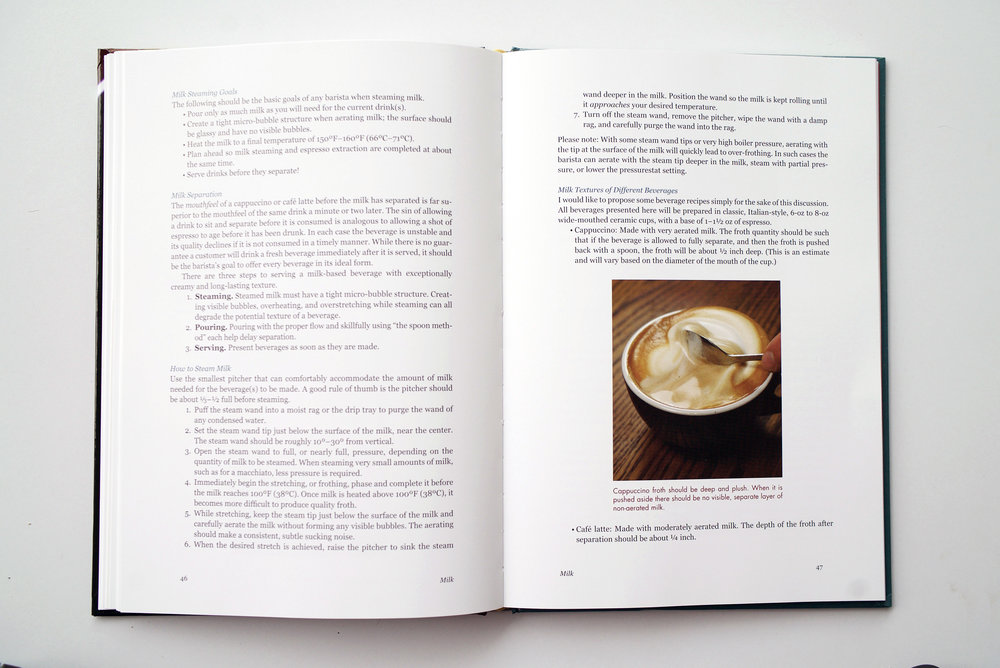 The Professional Barista's Handbook Chapter Preview
