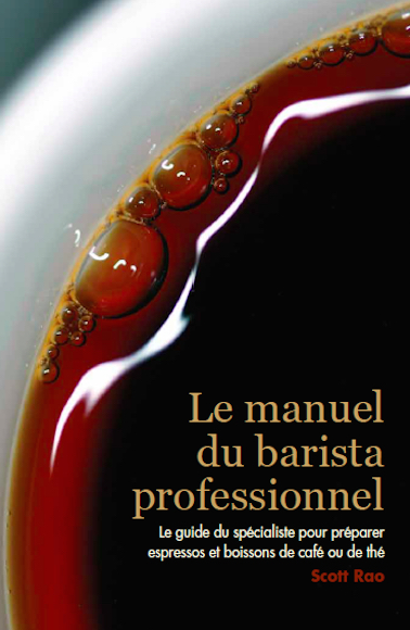 The Professional Barista's Handbook in French