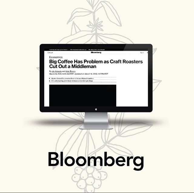 Congrats to @regaliacoffee on the wonderful article @bloomberg about our Co roasting space in NYC. Link in bio
