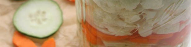 Make your own lacto-fermented vegetables