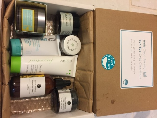CertClean Beauty Awards Box