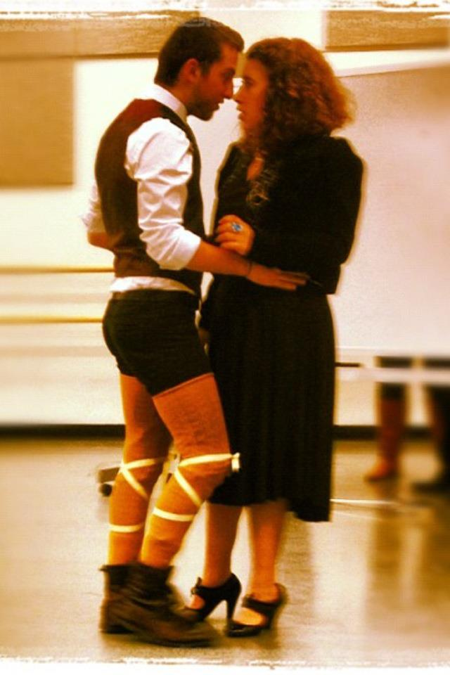 In rehearsal for Twelfth Night (Olivia)