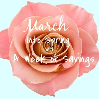 🌺🌸SPRING IS HERE !! 🌺🌸 We are going to give our guests a week of savings on hair and spa services ! Starting 3.24 - 3.31 , be sure to check our Instagram, Facebook and our website to claim our daily deals ! . .. ... .... ..... ...... * The promotion is for one week only . Must call the day promotion is posted to redeem service deal . Must book appointment and redeem within 14days of promotion.