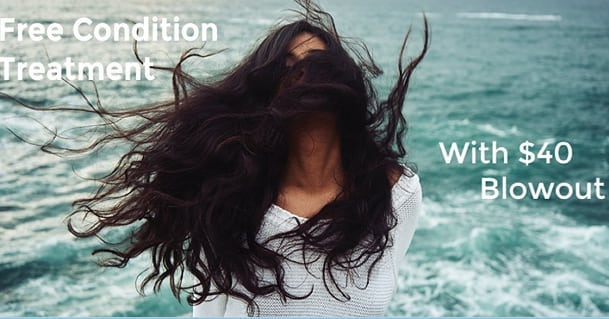 🌸🌺🌺🌸🌸 TODAY'S DEAL ..... FREE  Condition Treatment with a $40 Blowout . Must CALL TODAY  to redeem this promotion.  503.718.0124