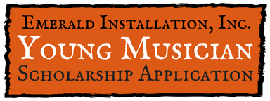 Emerald Installation, Inc. Young Musician Scholarship
