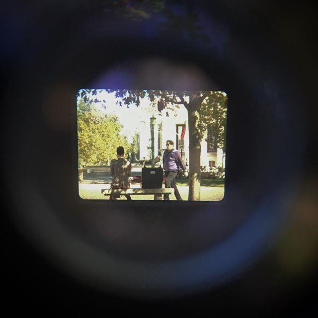 Shooting on a #bolex again and it feels so good. . . دارم در بلکس بعد از مدت زمان طلانی فیلم می گیرم  و من از خیلی خوشم می آید! . . . #bolexreflex #16mmfilm #16mm #throughthelens #film #filmmaking #filmisalive #indiana #indianauniversity #indianauniversitybloomington #iu #iubloomington . . . #بلکس #فیلم