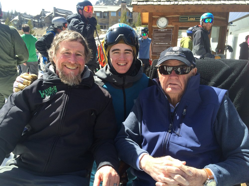 John, Johnny and Warren - 2015