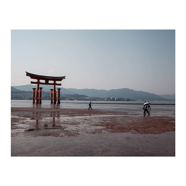 Strolling around Miyajima Island
