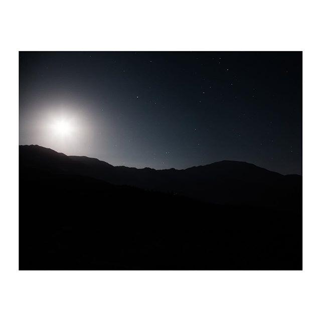 Night sky above Magome, Japan
