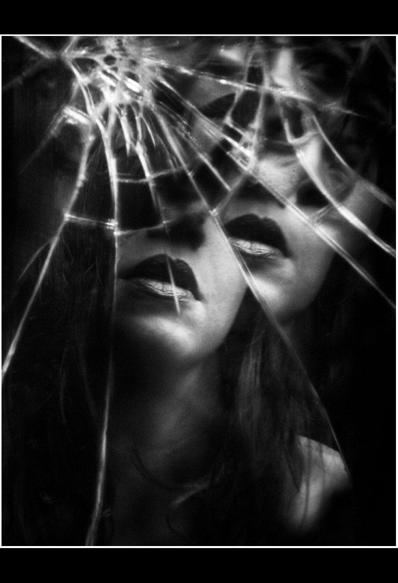 Shattered Self-Portrait © 2015 Safi Alia Shabaik